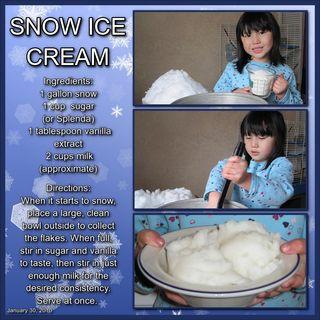 Snow Ice creamsm